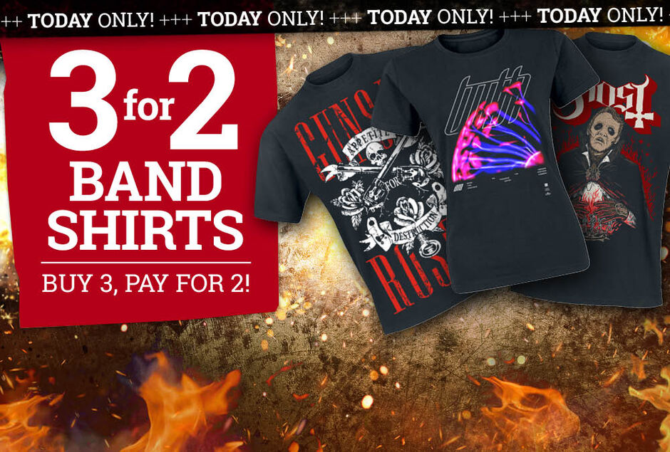 Buy 3, pay for 2!