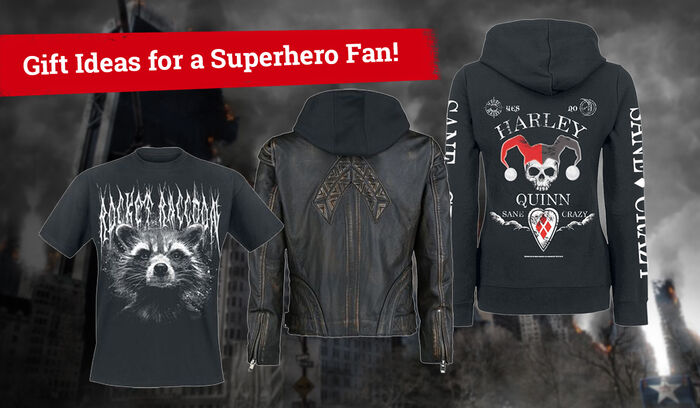 Gift Ideas for a Superhero Fan! (Or a Supervillain fan – who are we to judge?)