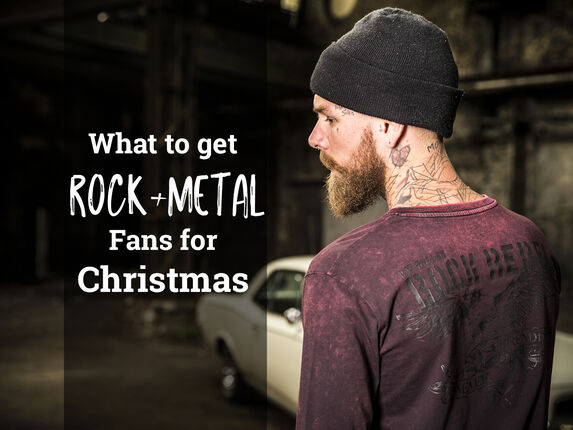 What to get Rock and Metal fans this Christmas!