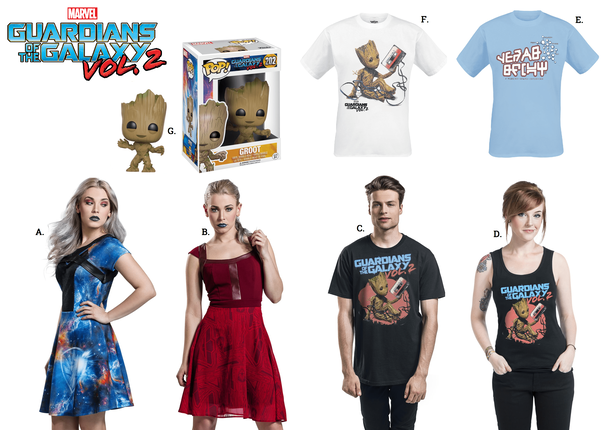 The EMP Summer 2017 Catalogue is Here – New Guardians of the Galaxy Merch, Disney Clothing and More!