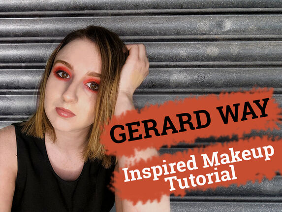 Gerard Way Inspired Makeup Tutorial