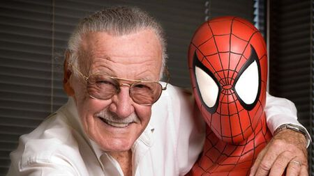 """""""The greatest superpower is luck."""" – Stan Lee – 1922 – 2018"""
