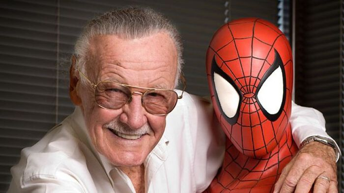 """The greatest superpower is luck."" – Stan Lee – 1922 – 2018"