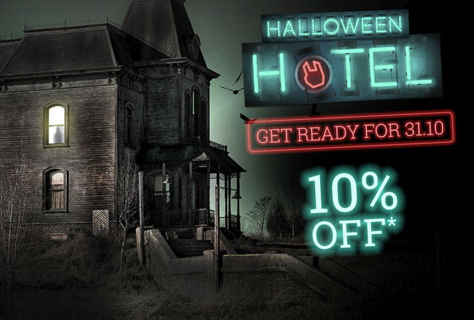 10% off Halloween stuff