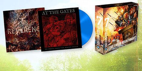 CDs, Vinyl, DVDs & Blu-ray