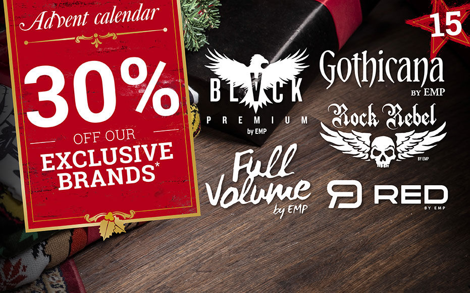 Get 30% off our exclusive brands