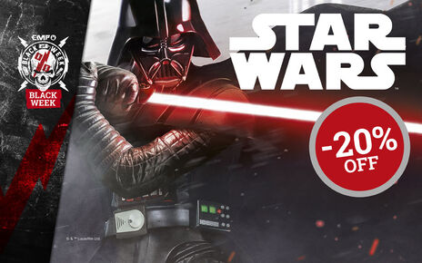 Get 20% OFF selected STAR WARS items now!