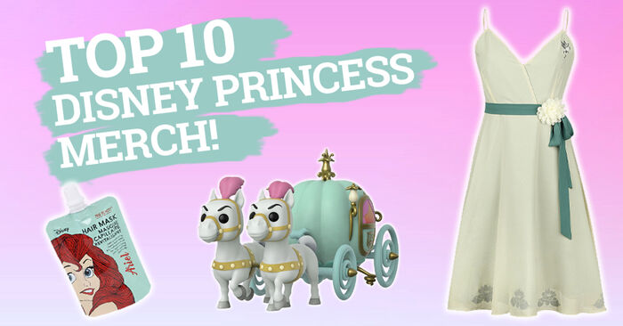 Top 10 Disney Princess Merch from EMP