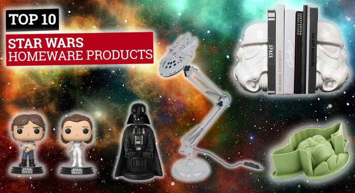 Top 10 Star Wars Homeware Products From EMP