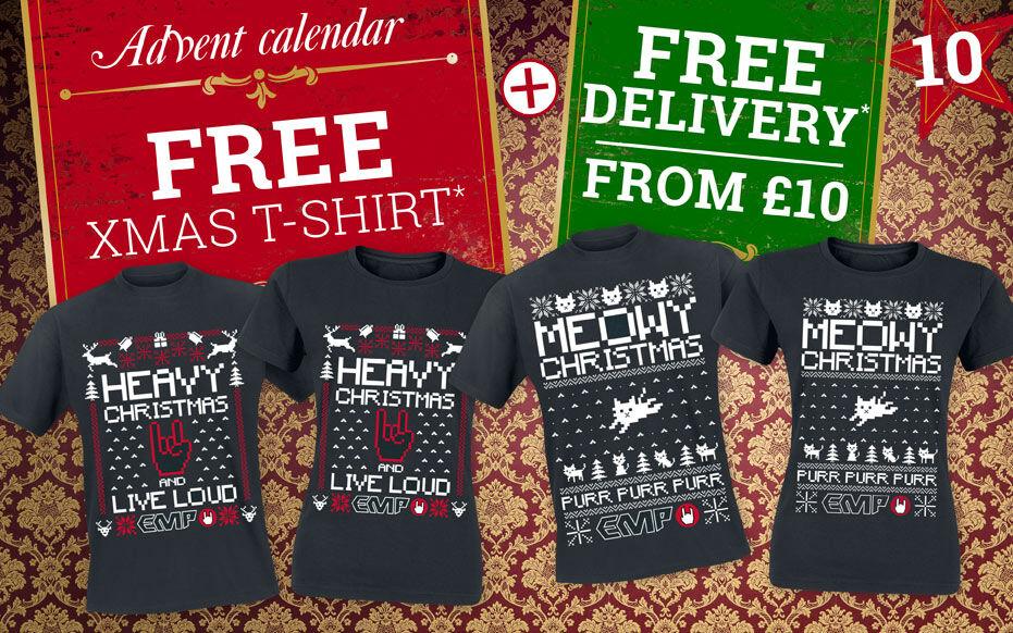 Free Xmas T-shirt*