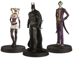 Batman Askham Asylum Hero Collection (3 Figures)