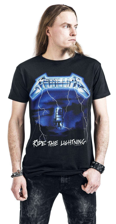 9ac43848 Metallica. Ride The Lightning. T-Shirt. 10 Reviews