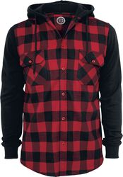 Hooded Checked Flannel