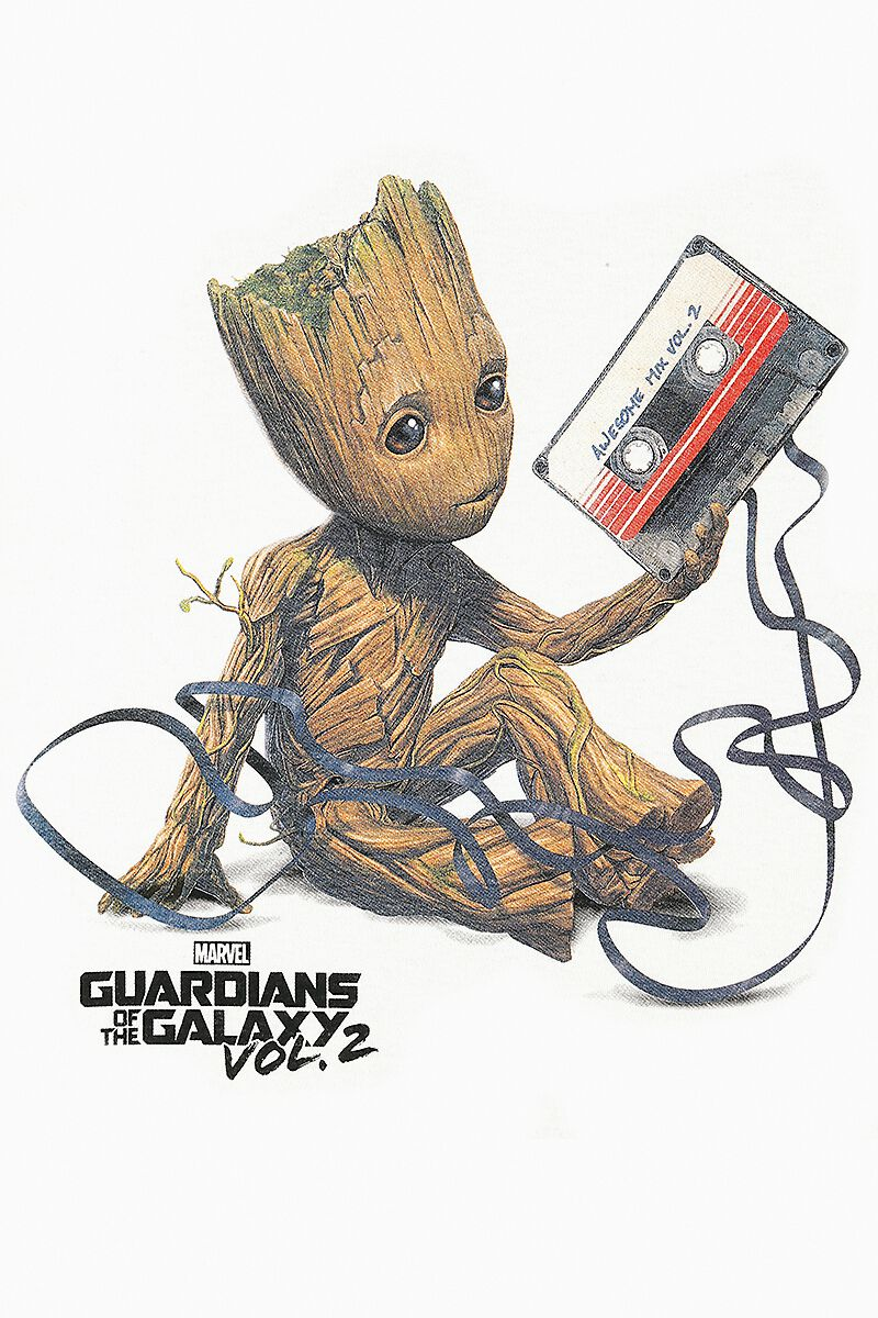 06f65b6e1 2 - Groot   Tape. T-Shirt. 2 Reviews. Guardians Of The Galaxy