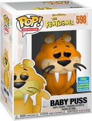 The Flintstones SDCC 2019 - Baby Puss (Funko Shop Europe) Vinyl Figure 598