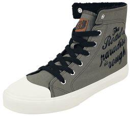 Rock Rebel X Route 66 - Green Lined Sneaker