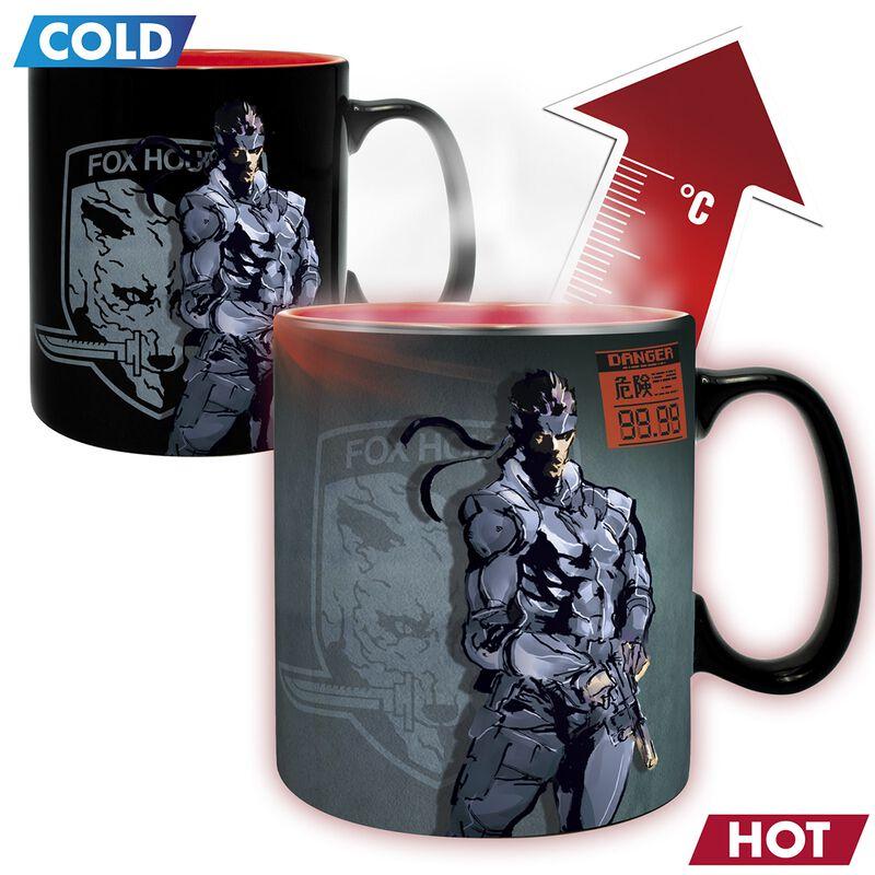 Solid Snake - Heat-Change Mug