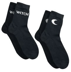 Witch & Moon Socks