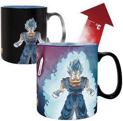 Super - Vegito & Trunks - Heat-Change Mug