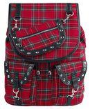 Red Tartan Backpack