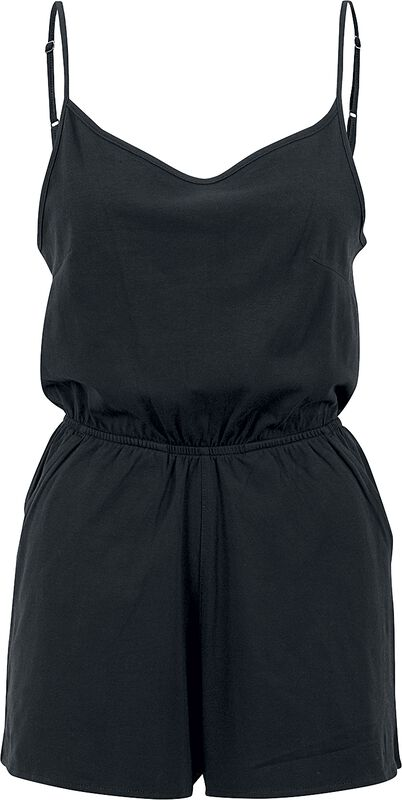 Ladies Short Spaghetti Jumpsuit