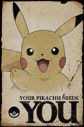 Pikachu needs you