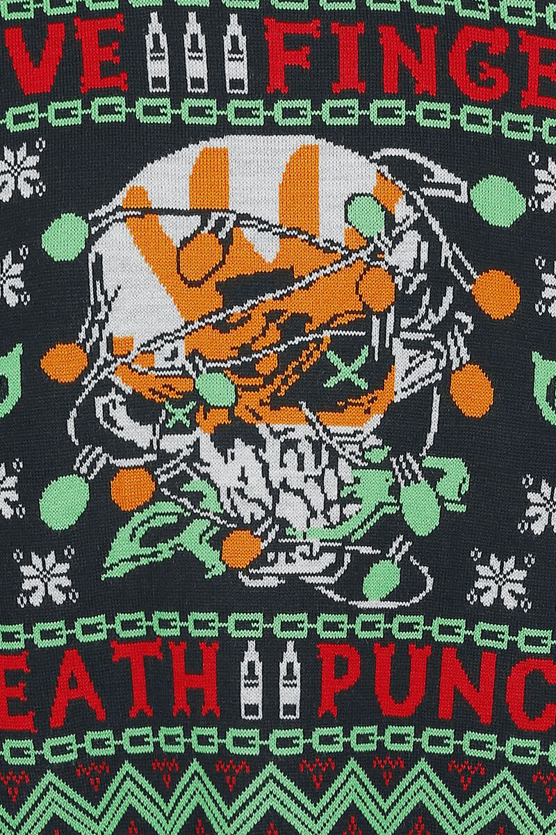 Holiday Sweater 2019 | Five Finger Death Punch Christmas jumper | EMP