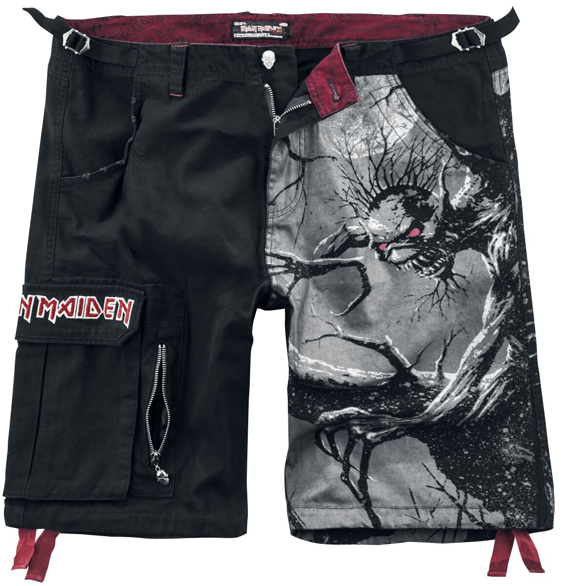 16a59f42f8 EMP Signature Collection | Iron Maiden Shorts | EMP
