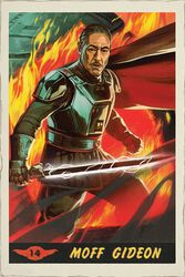 The Mandalorian - Moff Gideon Card