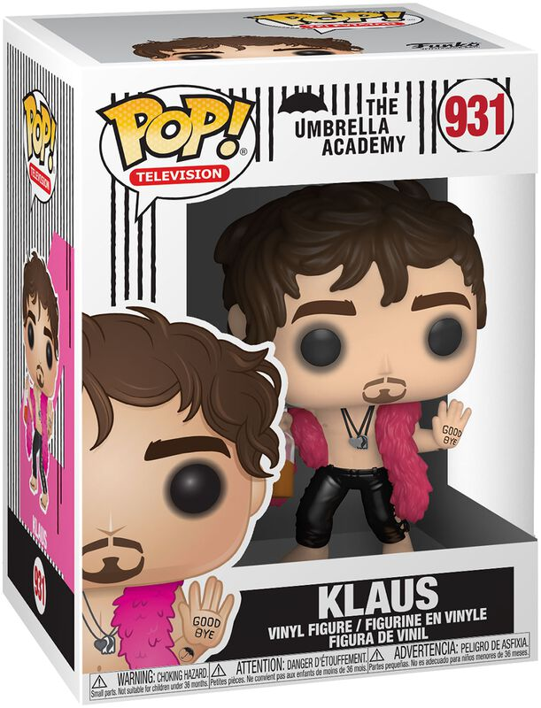 Klaus Vinyl Figure 931