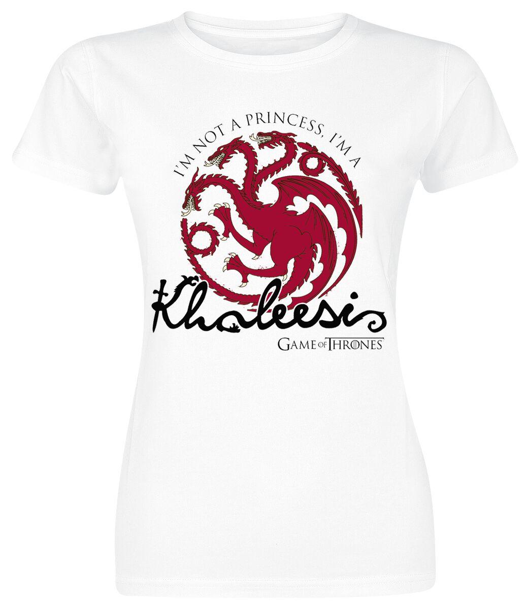 76c6e5857 Daenerys Targaryen - Khaleesi | Game Of Thrones T-Shirt | EMP