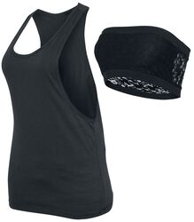 Ladies Loose Tank Incl. Bandeau