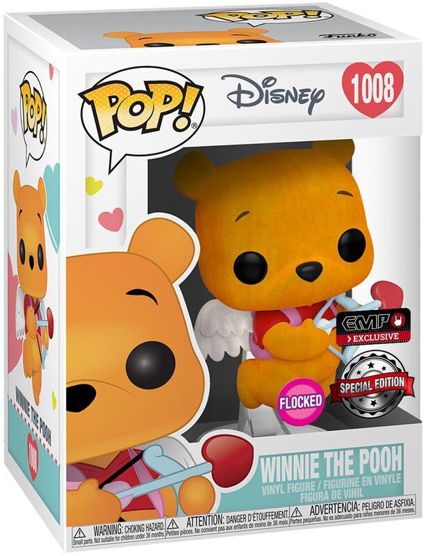 Winnie The Pooh (Valentine) (Flocked) Vinyl Figure 1008