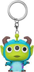 Alien as Sulley - POP! Keychain