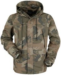 Camouflage Jacket with Embroidery