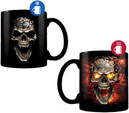 Skull Blast - Heat-Change Mug