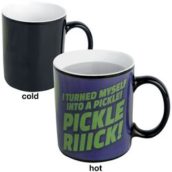 Pickle Rick - Heat-Change Mug