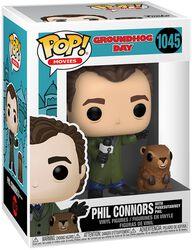 Groundhog Day Phil Connors with Punxsutawney Phil Vinyl Figure 1045