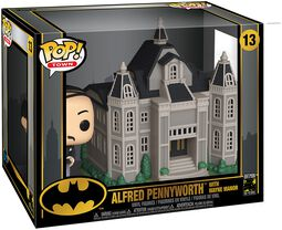 80th - Alfred Pennyworth With Wayne Manor  (Pop! Town) Vinyl Figure 13