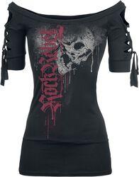 Drops Skull Cut-Out Shirt