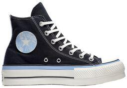 Chuck Taylor All Star Lift Black JP Blue Egret