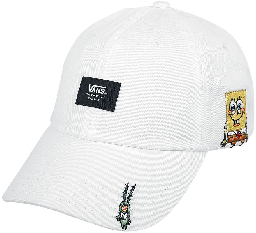 Vans x Spongebob Curved Bill Jockey White