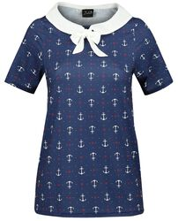 Sweet Anchors Collar Shirt