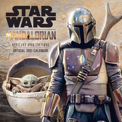 2021 Wall Calendar - The Mandalorian