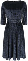Halloween Poise Fit & Flare Dress