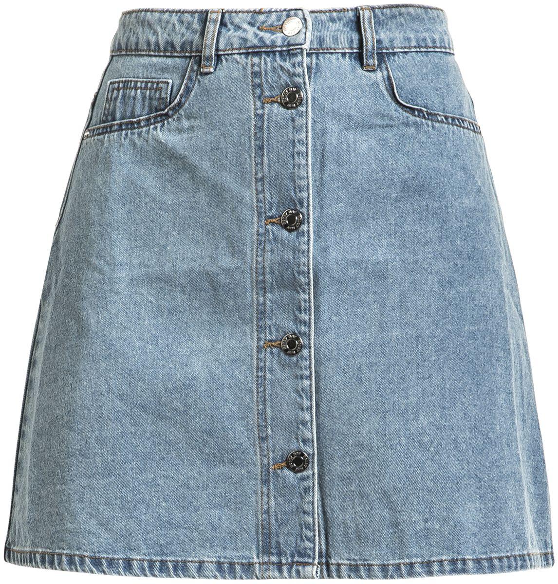 57676683e6d3fa Sunny Short Denim Skater Skirt | Noisy May Medium-length skirt | EMP