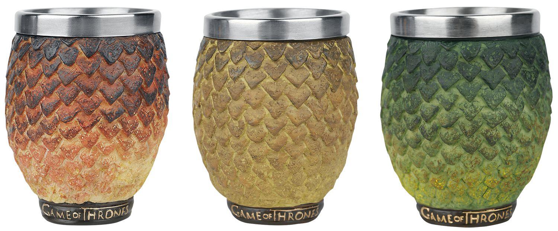 Dragon Eggs - Drogon, Rhaegal, Viserion