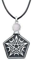 Tearbottle Pentagram Necklace