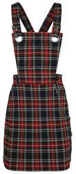 Clash Pinafore Dress