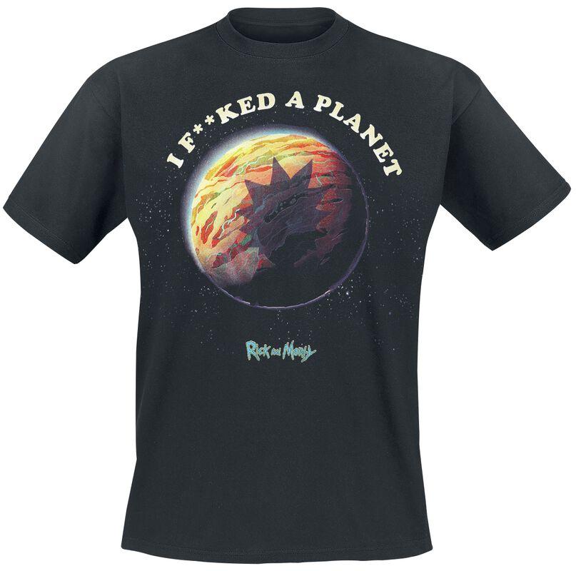 I Fucked A Planet
